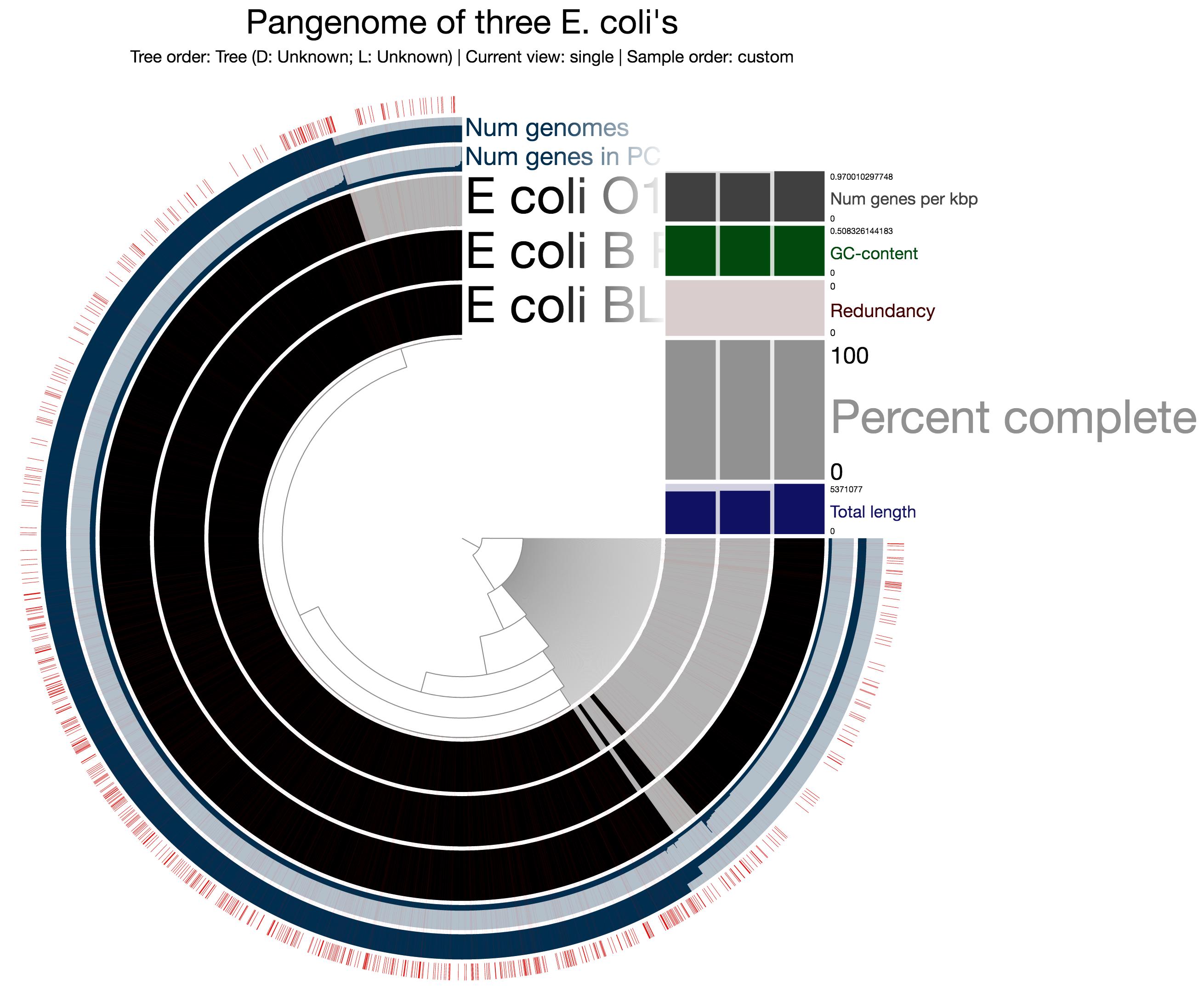 E. coli long PCs